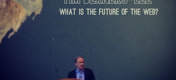 Sir Tim Berners-Lee still passionate about the web he weaved